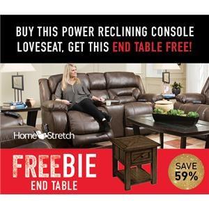 Arnette Power Loveseat with FREEBIE!