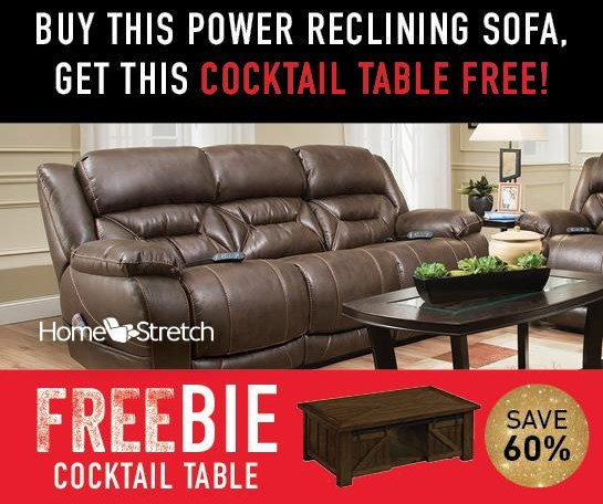 Arnette Arnette Power Sofa with FREEBIE! by HomeStretch at Morris Home