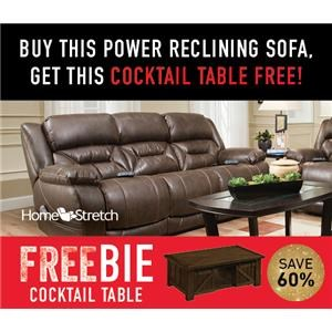 Arnette Power Sofa with FREEBIE!