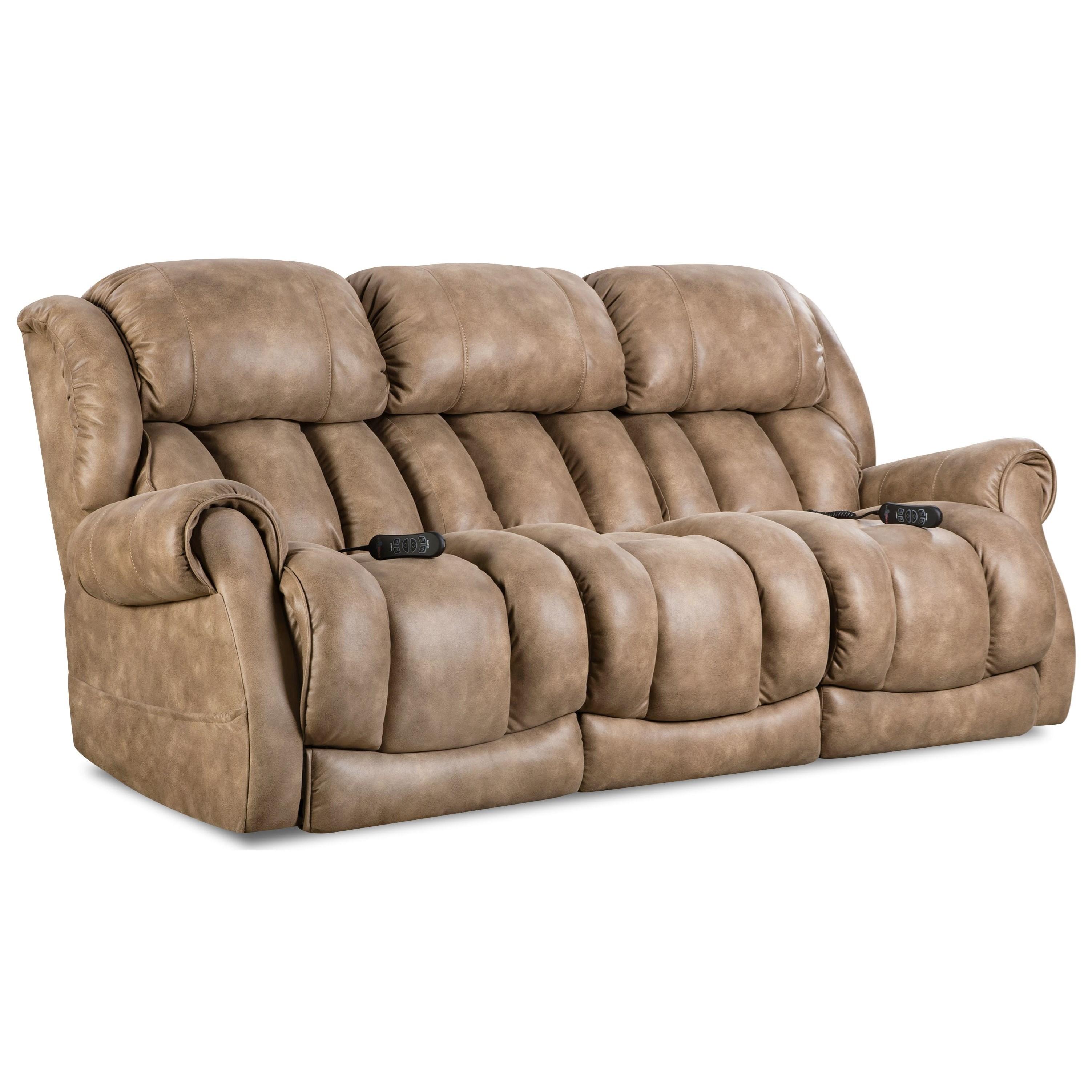 HomeStretch Atlantis Power Reclining Sofa - Item Number: 146-37-15