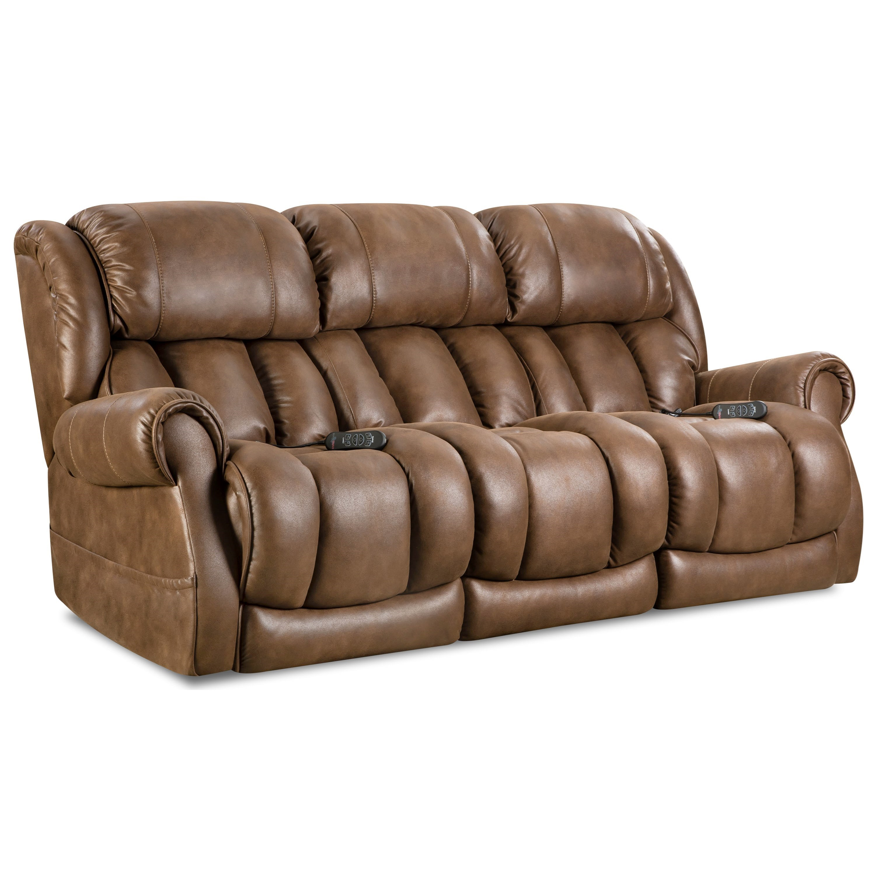 Homestretch Atlantis Casual Power Reclining Sofa With