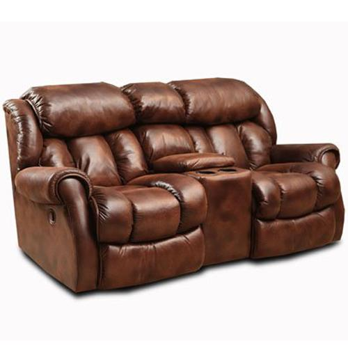 Homestretch Cody 101 23 21 Casual Rocking Recliner Loveseat With Cup Holders Dunk Bright