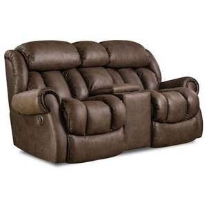 HomeStretch Cody Casual Power Reclining Sofa