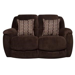 Morris Home Furnishings David David Gliding Reclining Loveseat