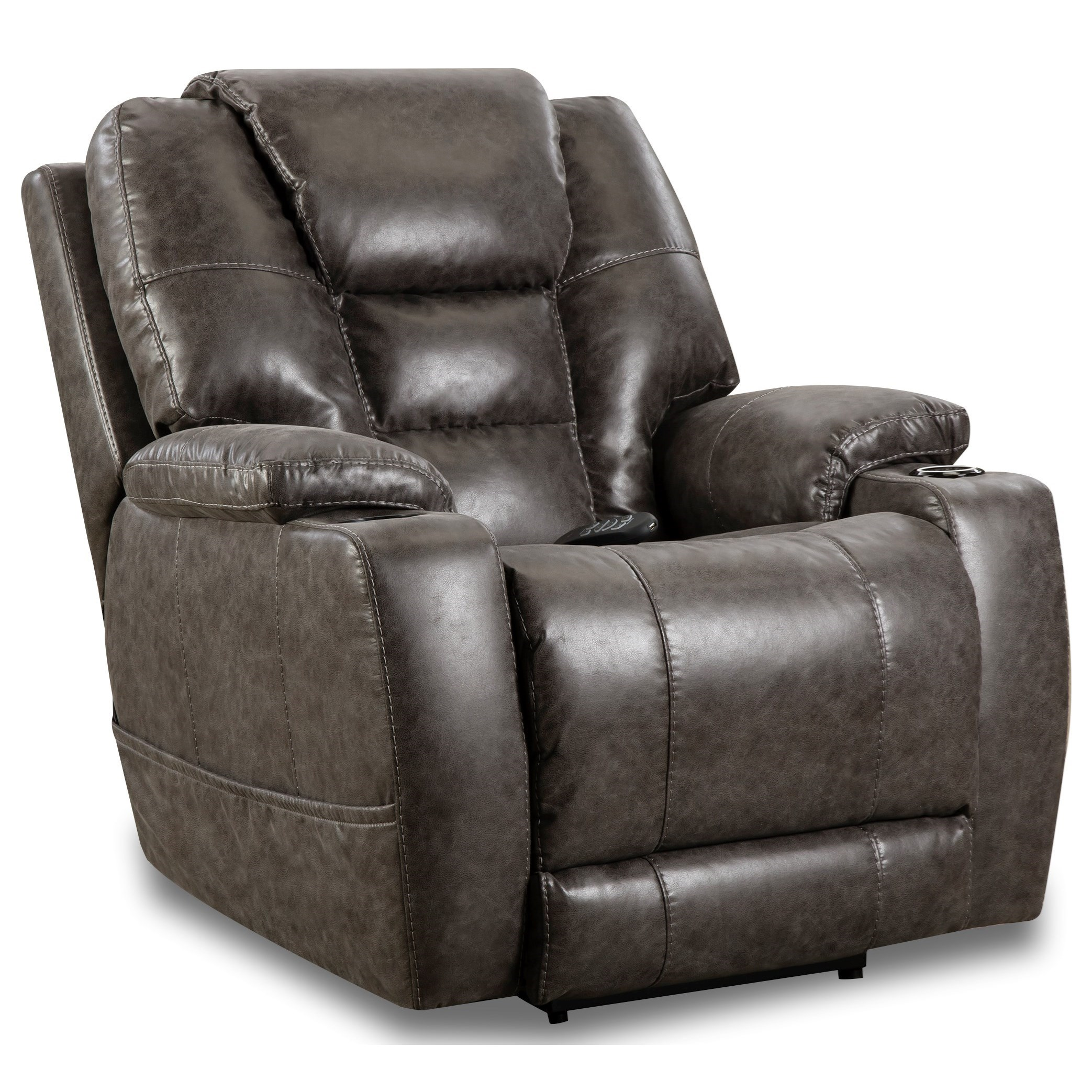 Discovery Power Recliner by HomeStretch at Darvin Furniture