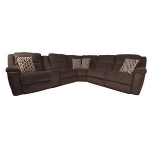Morris Home Furnishings Drew Drew Power Sectional Sofa