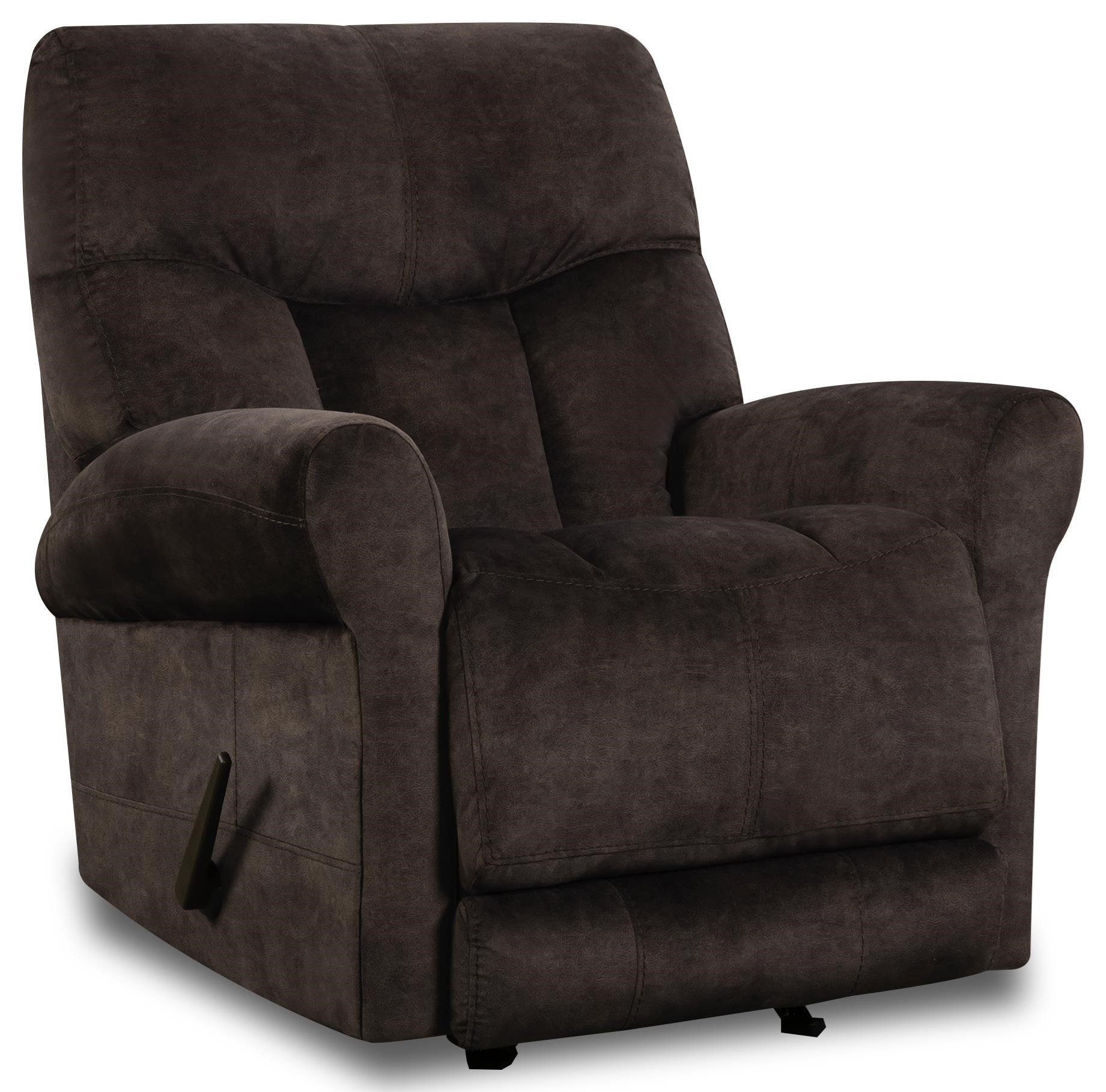 Dundee Rocker Recliner by HomeStretch at Johnny Janosik