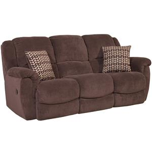 HomeStretch Newman Casual Reclining Sofa