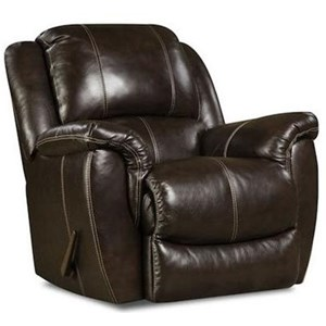 HomeStretch Princeton Power Rocker Recliner