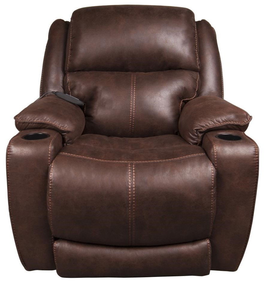 Raney Power Recliner w/ Power Headrest