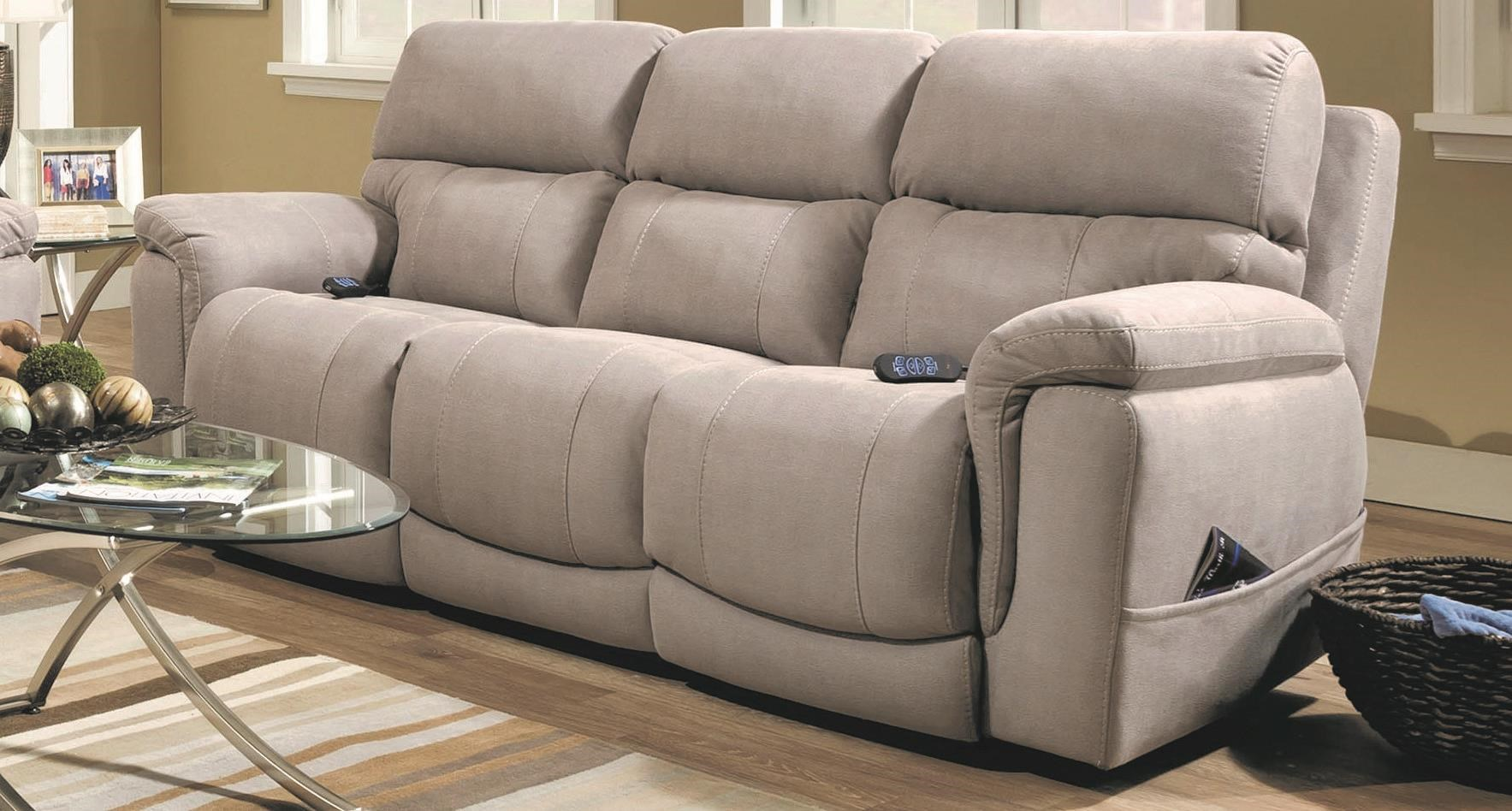 Ridley Ridley Power Sofa with USB by HomeStretch at Morris Home