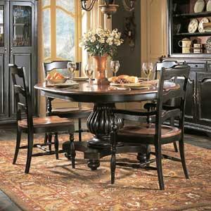 Hooker Furniture Indigo Creek Pedestal Dining Table