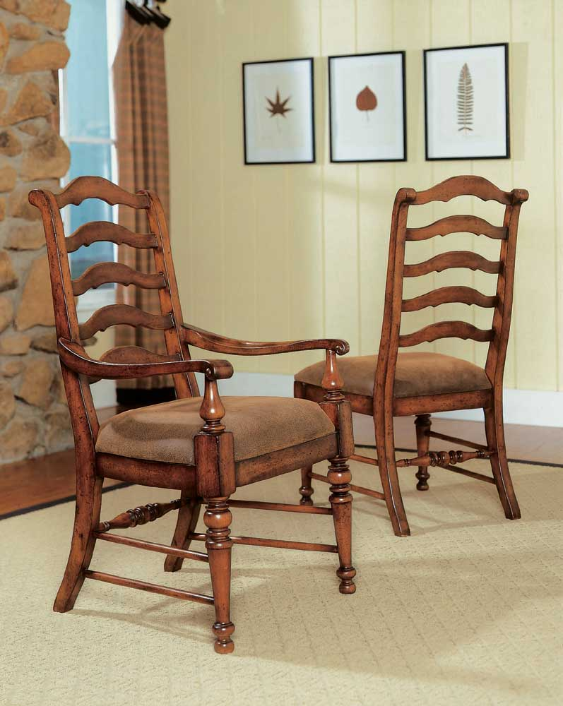 Hooker Furniture Waverly Place Ladderback Side Chair - Item Number: 366-75-410