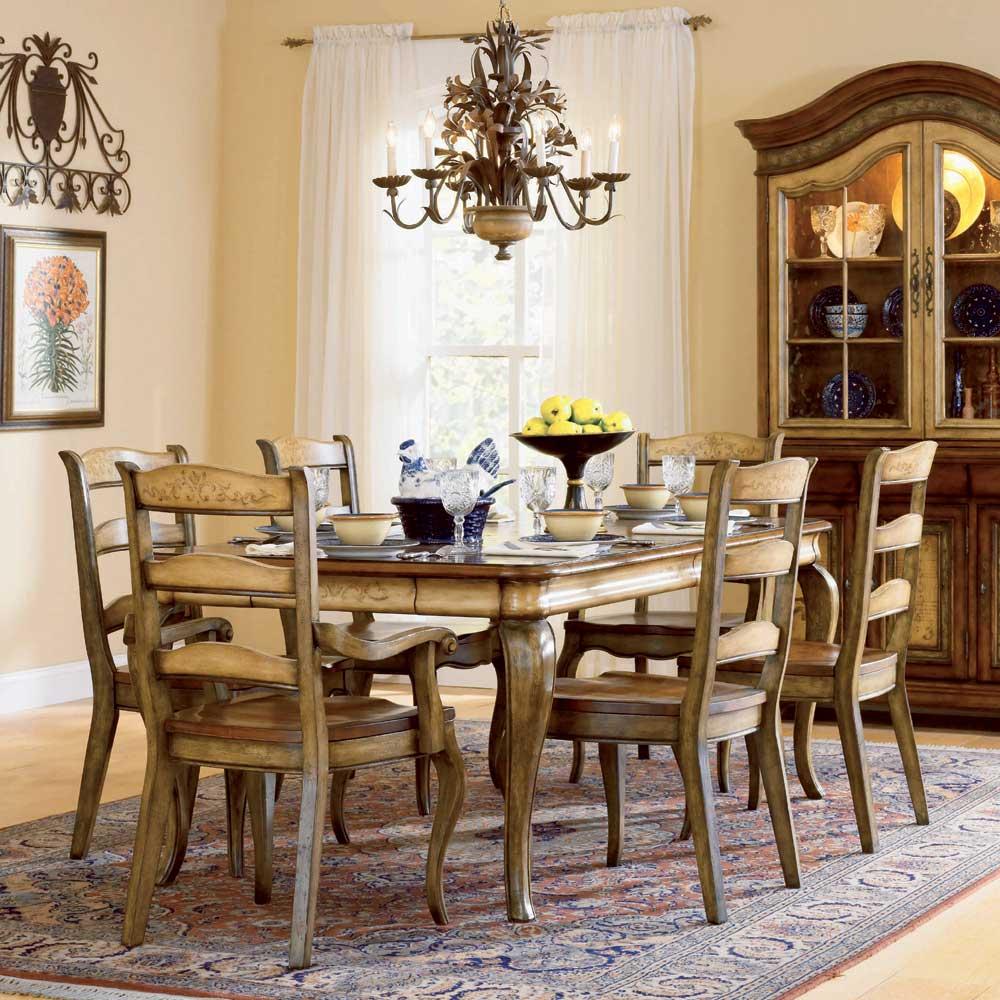 hooker furniture vineyard 7 piece dining set ahfa dining 7 or