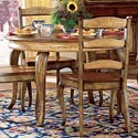 Hooker Furniture Vineyard Round Dining Table with One 20