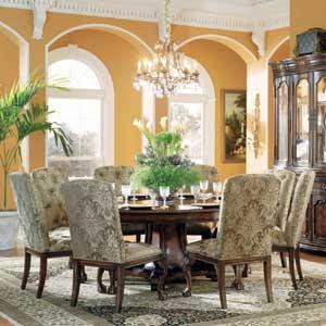 Hooker Furniture Grandeur Round Dining Table