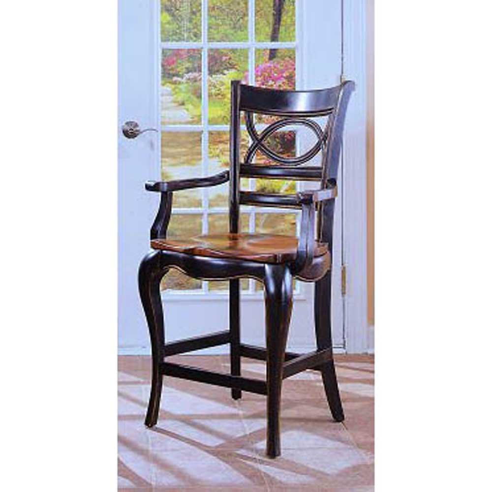 Hooker Furniture Preston Ridge Oval Back Counter Stool - Item Number: 864-75-350