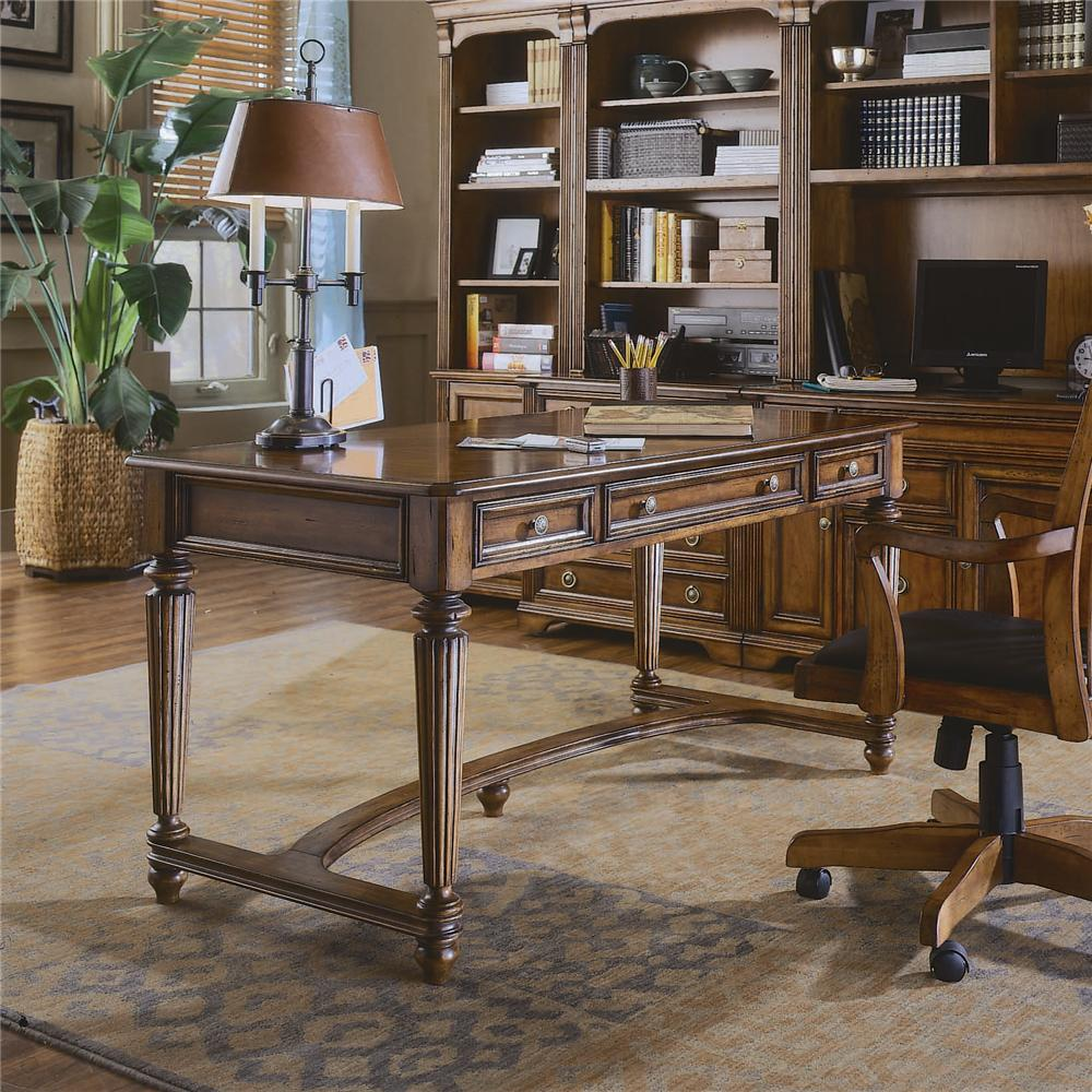 Brookhaven Leg Desk by Hooker Furniture at Miller Waldrop Furniture and Decor