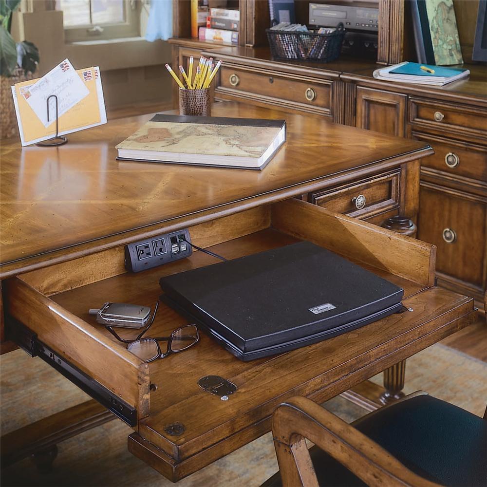 Hooker Furniture Brookhaven Armoire Desk Reviews: Hooker Furniture Brookhaven 281-10-458 Table Desk With