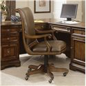 Hooker Furniture Brookhaven Desk Chair - Item Number: 281-30-220
