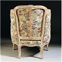 Century Century Chair Antique Styled Chair with Upholstered Winged Arms
