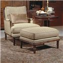 Century Century Chair Garrett Chair and Ottoman - Item Number: 3202+O