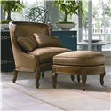 Century Century Chair Monaco Chair and Ottoman - Item Number: 3236+O