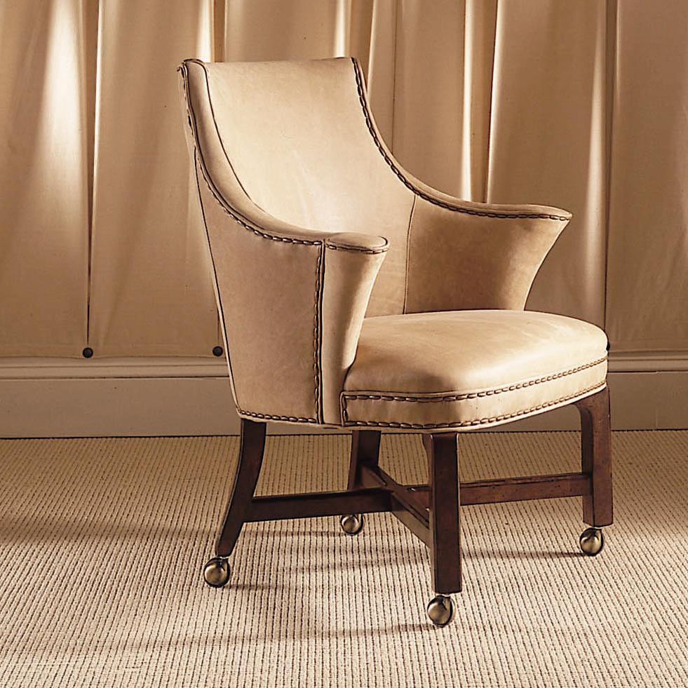 Dining Chairs With Wheels: Century Century Chair Winged Game Chair
