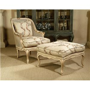 Century Century Chair Joliet Chair and Ottoman