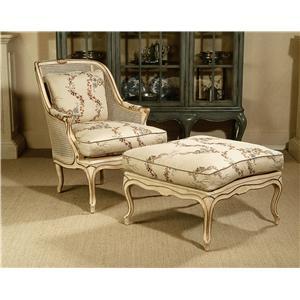 Century Century Chair Joliet Chair and Ottoman