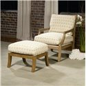 Century Century Chair Clancy Chair and Ottoman - Item Number: 3305+O