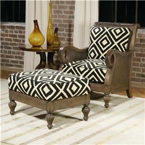 Arlee Chair and Ottoman