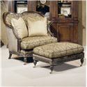 Century Century Chair Woodbury Chair and Ottoman - Item Number: 3313+O