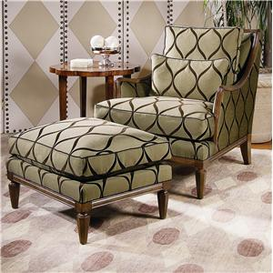 Century Century Chair Jensen Chair and Ottoman