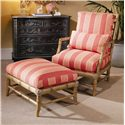 Century Century Chair Biscayne Chair and Ottoman - Item Number: 3323+O