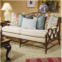 Century Century Chair Traditional Nail Trimmed Settee