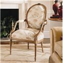 Century Century Chair Louis IV Fauteuil Chair - Item Number: 3691