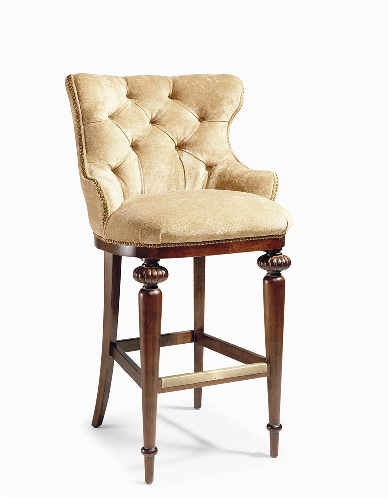 Century Chair Tufted Bar Stool by Century at Baer's Furniture