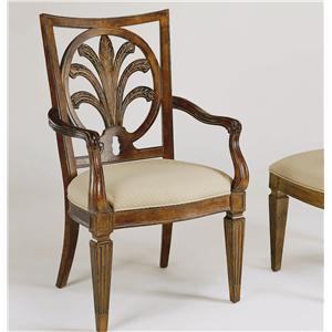 Century Century Chair Mitsford Carved Arm Chair