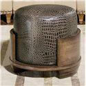 Century Century Chair Fallon Swivel Ottoman - Item Number: 3903SW