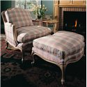 Century Century Chair Grand Bergere Chair and Ottoman - Item Number: 3984+5