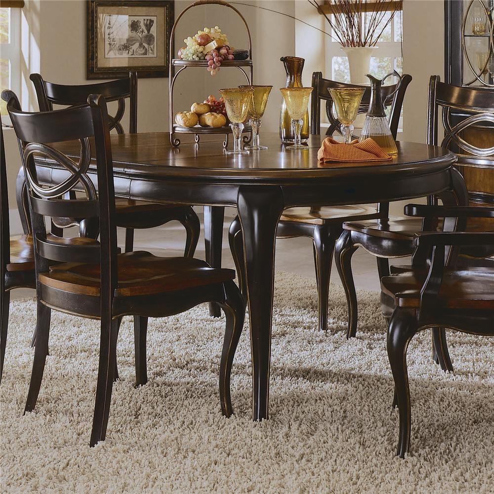 Preston Ridge Round Leg Dining Table By Hooker Furniture