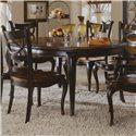 Hooker Furniture Preston Ridge Round Leg Dining Table