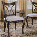 Hooker Furniture Preston Ridge Double X Back Dining Arm Chair