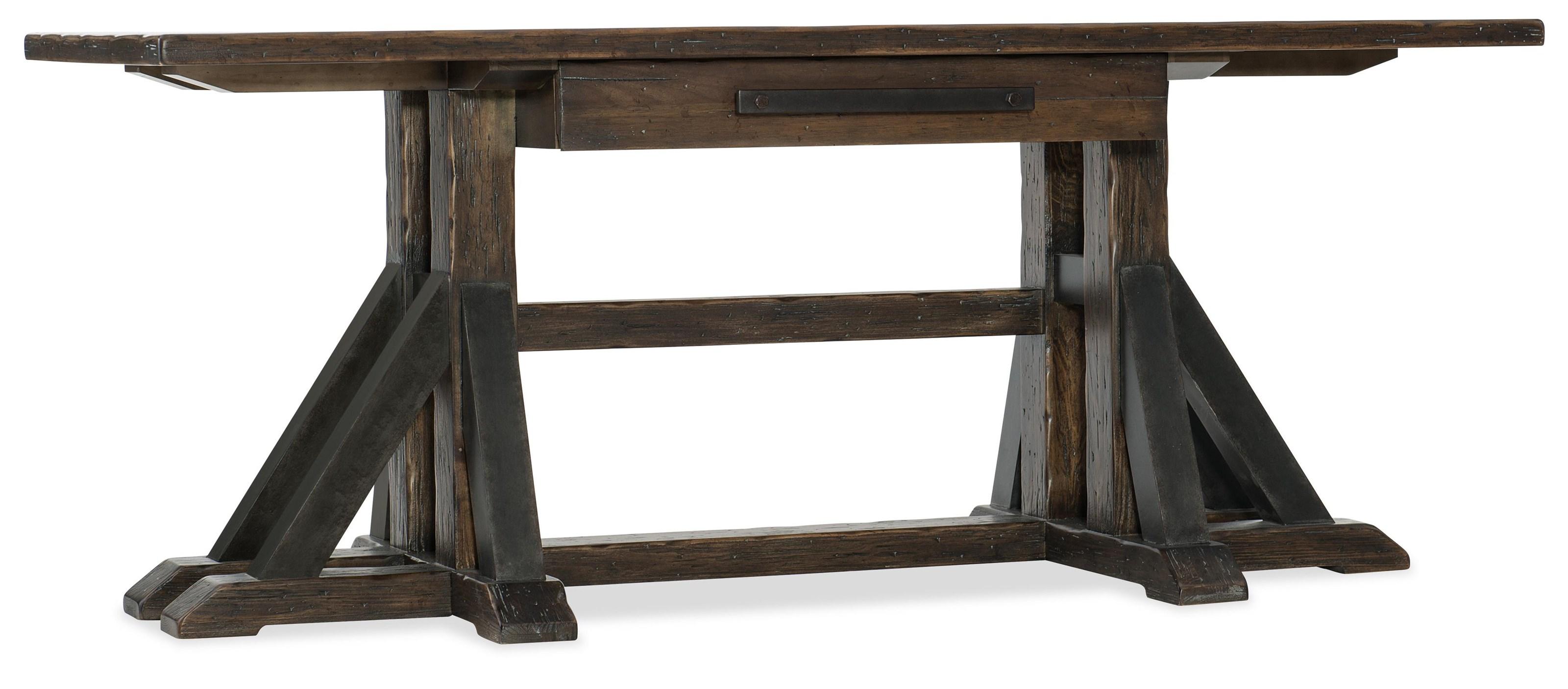 Hooker Furniture 1618-American Life Desk - Item Number: 1618-10459-DKW