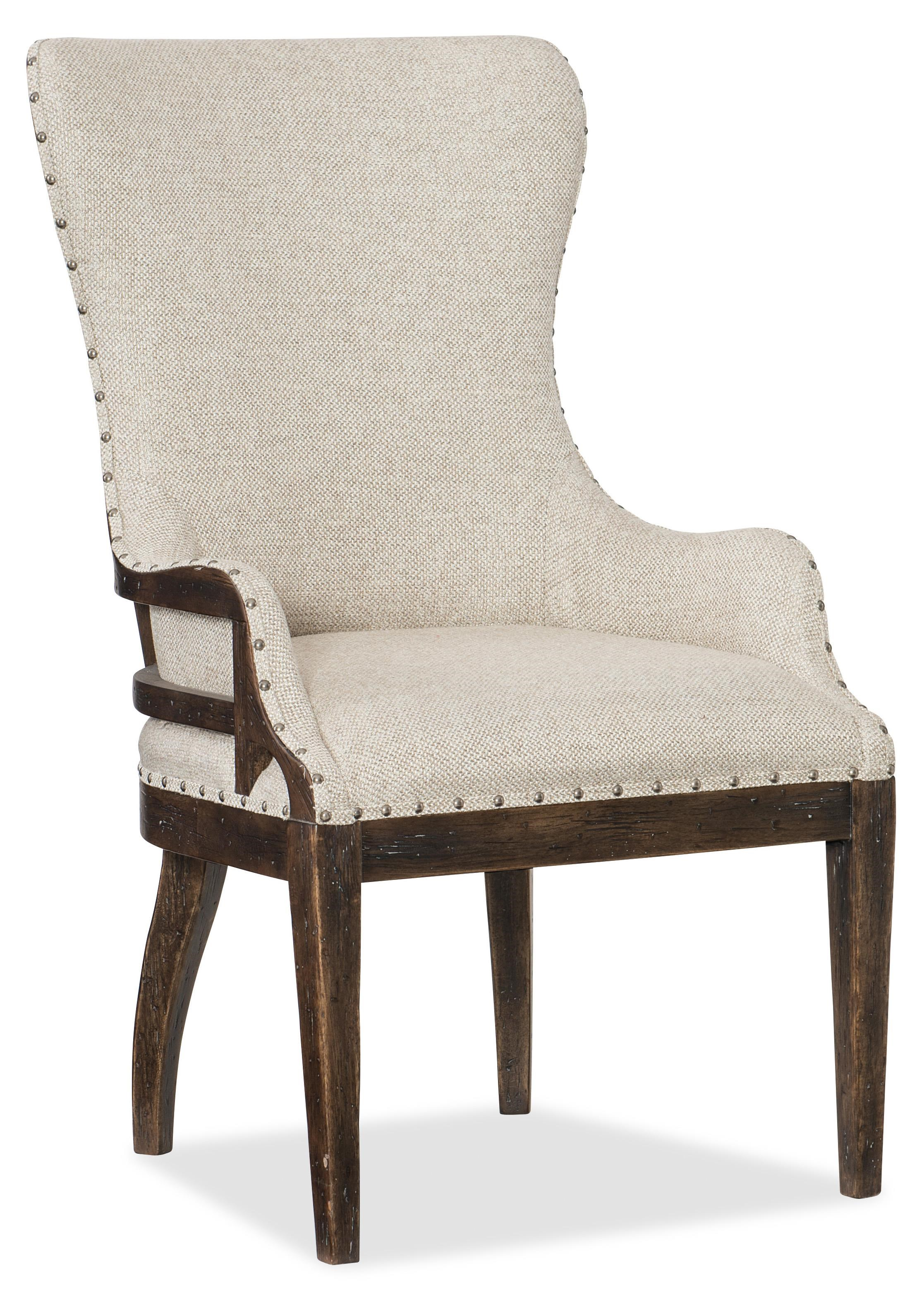 Hooker Furniture 1618-American Life Upholstered Chair - Item Number: 1618-75500-DKW