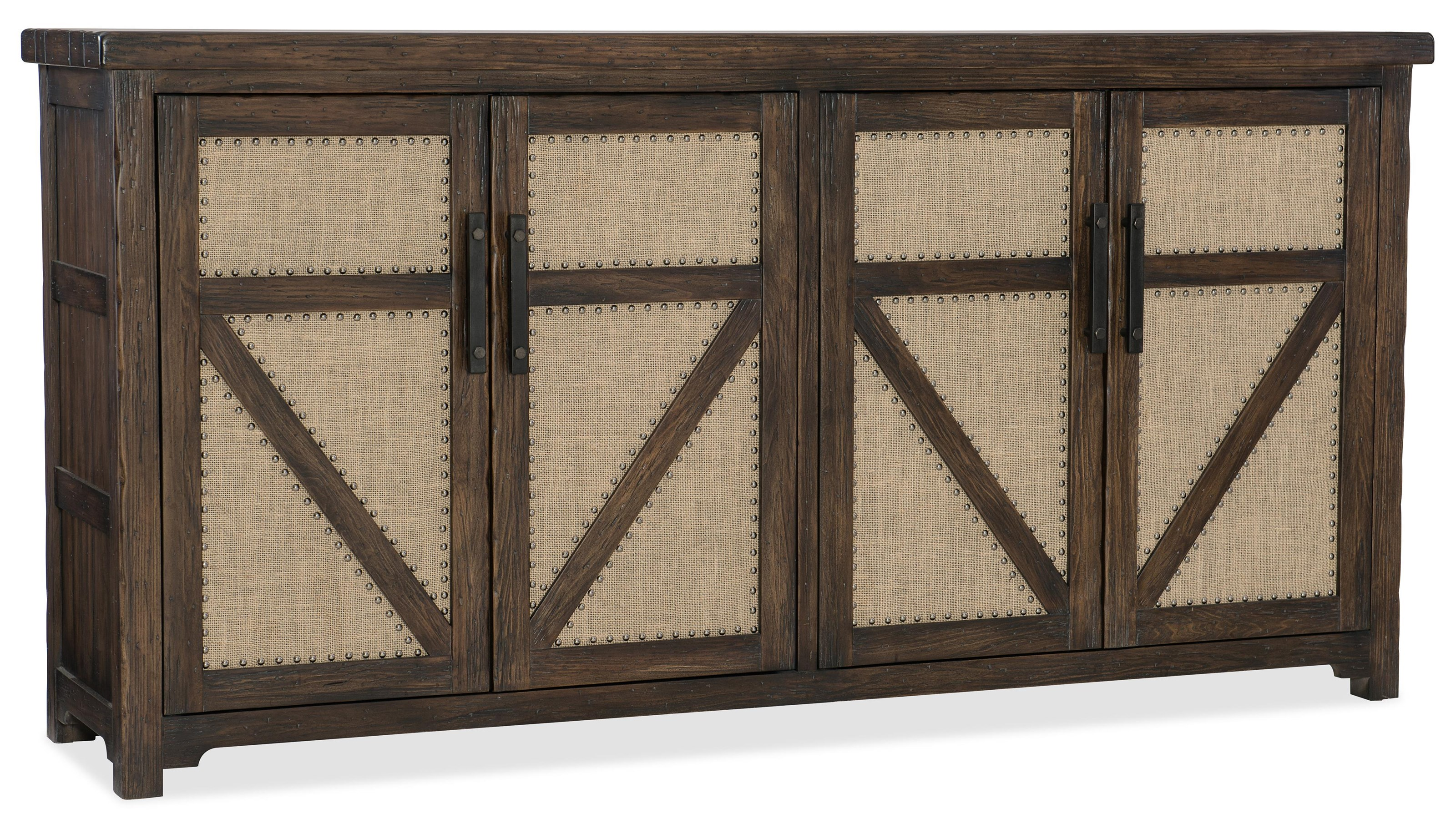 Hooker Furniture 1618-American Life Buffet - Item Number: 1618-75900-DKW