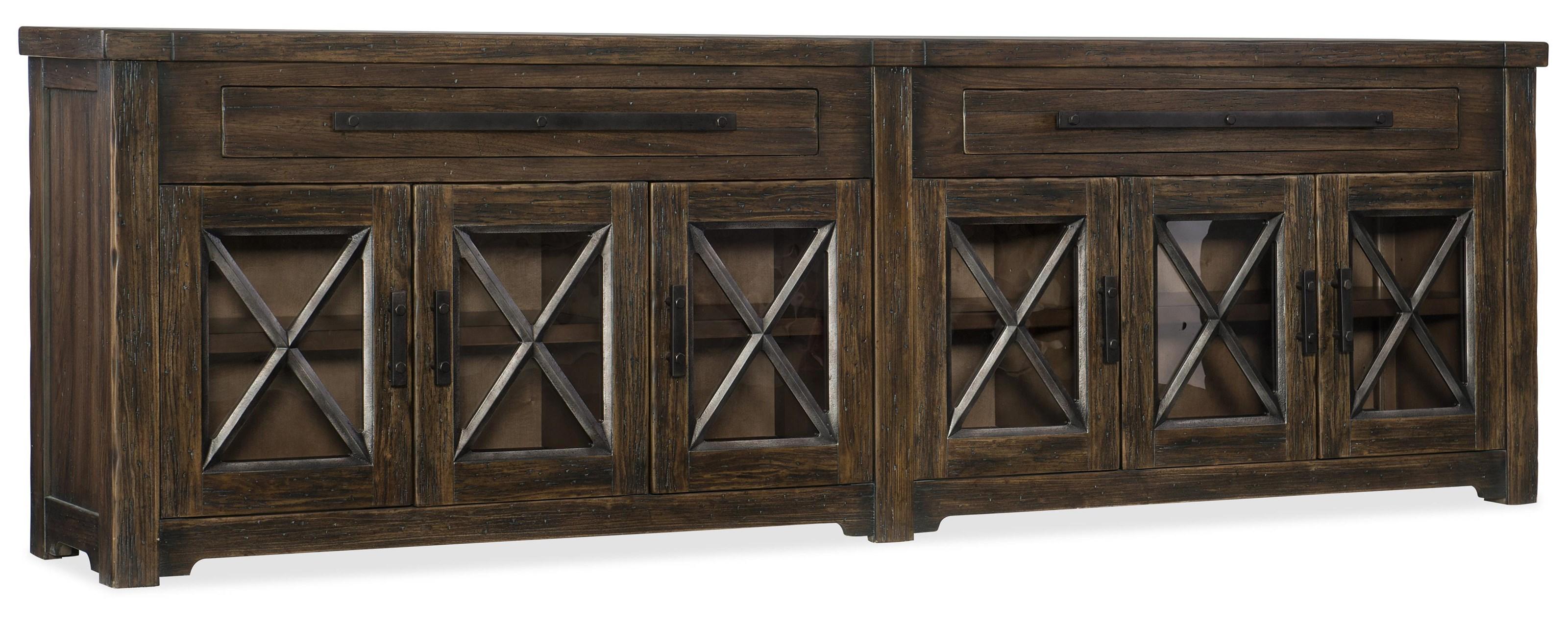 Hooker Furniture 1618-American Life Credenza - Item Number: 1618-85001-DKW