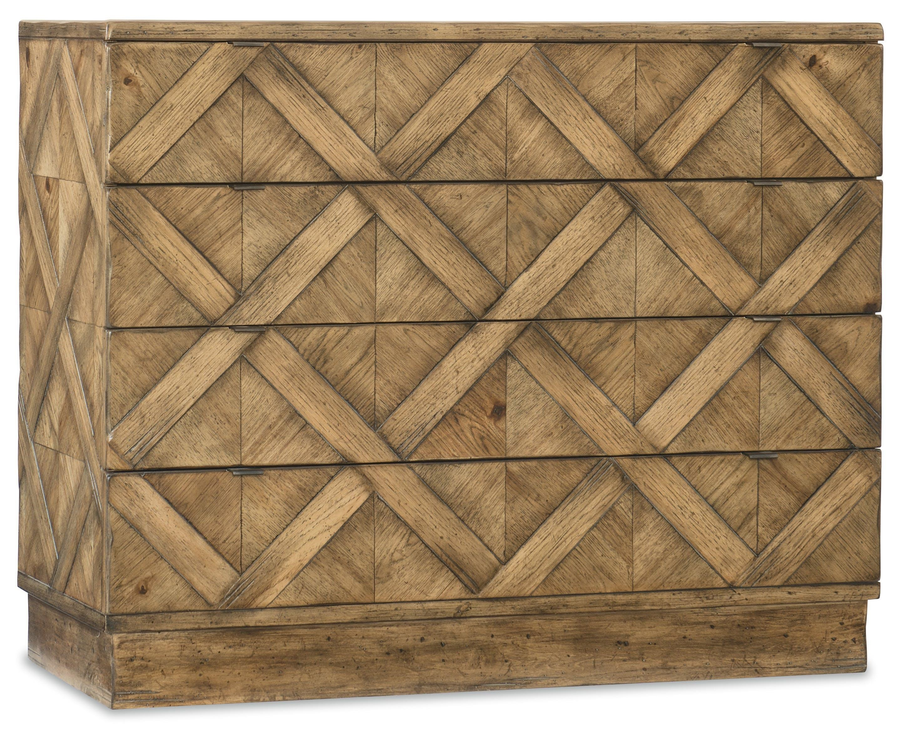 Hooker Furniture 1618-American Life Drawer Chest - Item Number: 1618-90017A-MWD