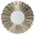 Hooker Furniture 3650-50 Sunray Mirror - Item Number: 3650-50001-SLV